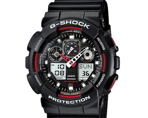 Jakie zalety ma zegarek g-shock ga 100