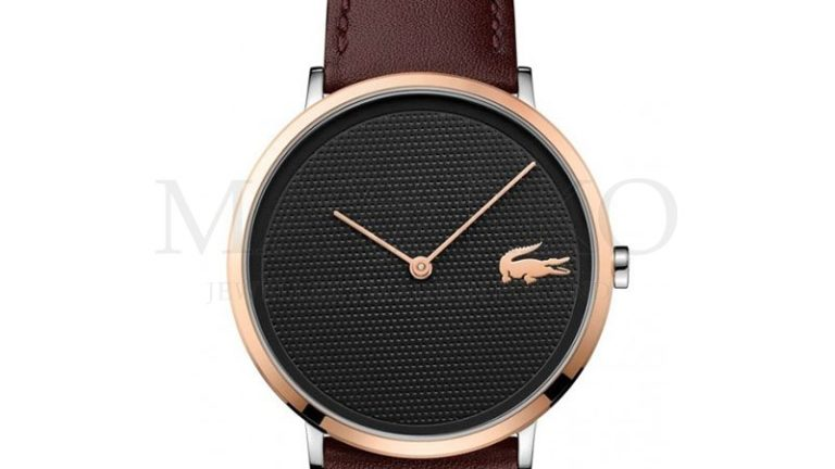 Lacoste zegarek męski na pasku
